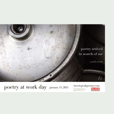 2015 poetry at work poster