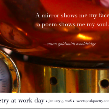Poetry at Work Day Poster